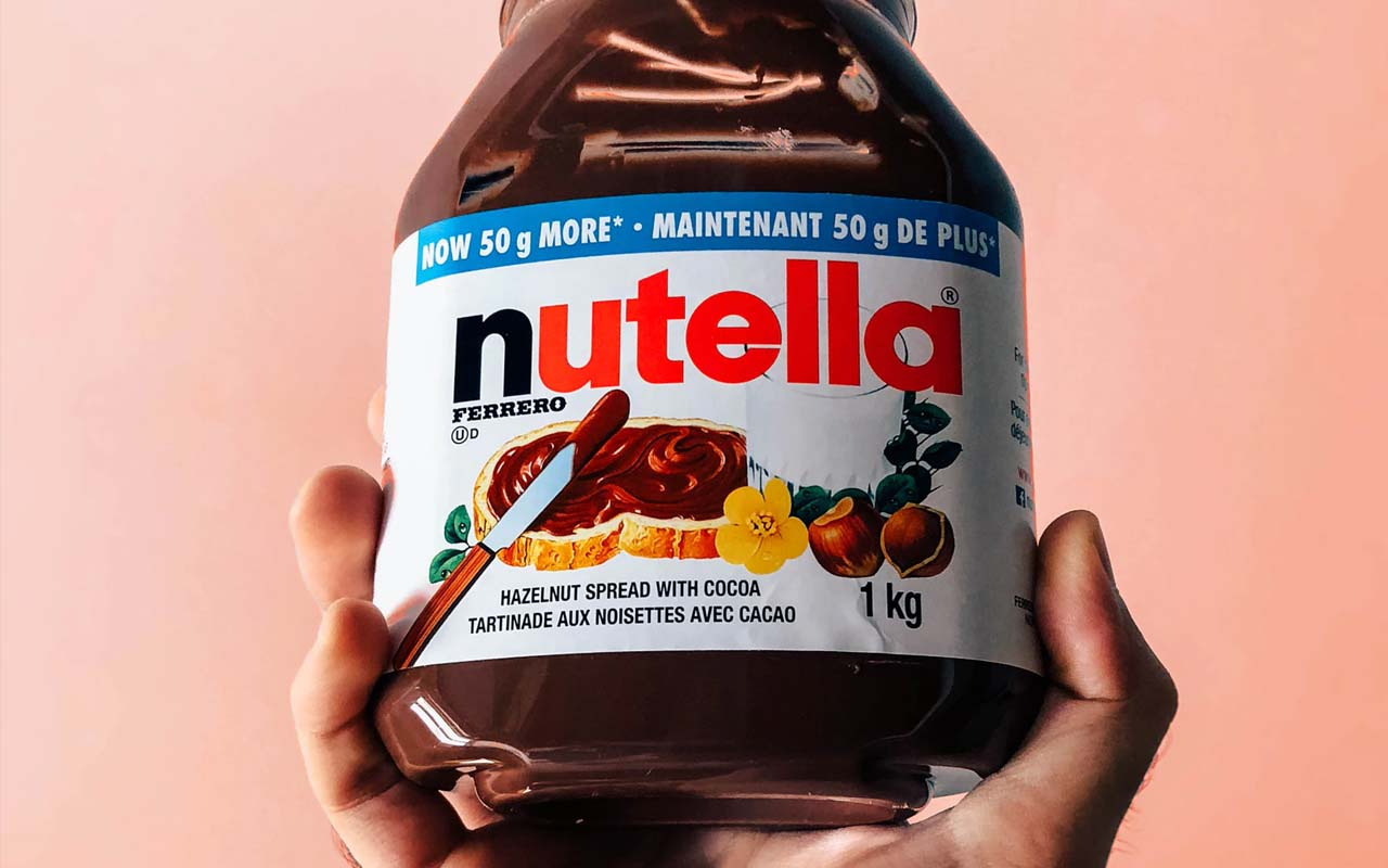 Nutella, company, WWII, facts, history, people, invention