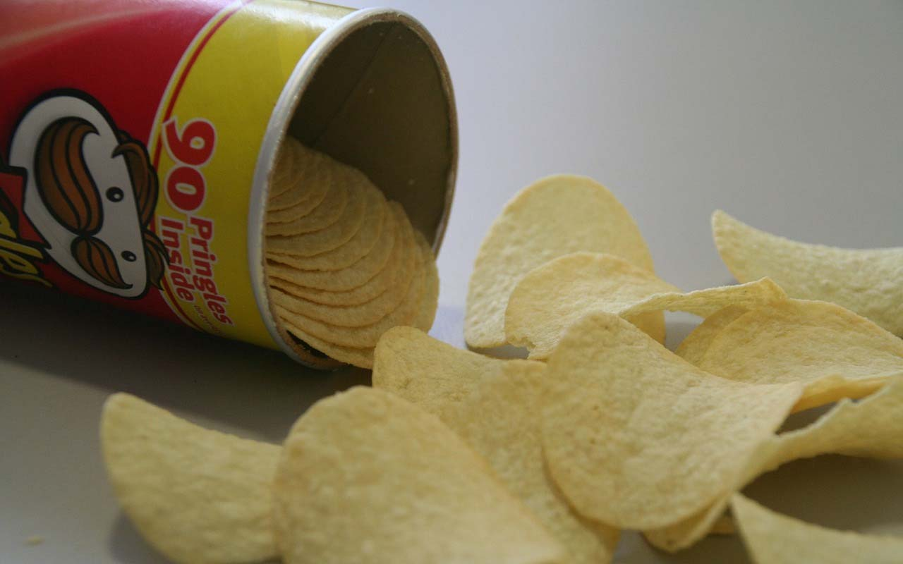 Pringles, chips, foods, facts, science, inventor