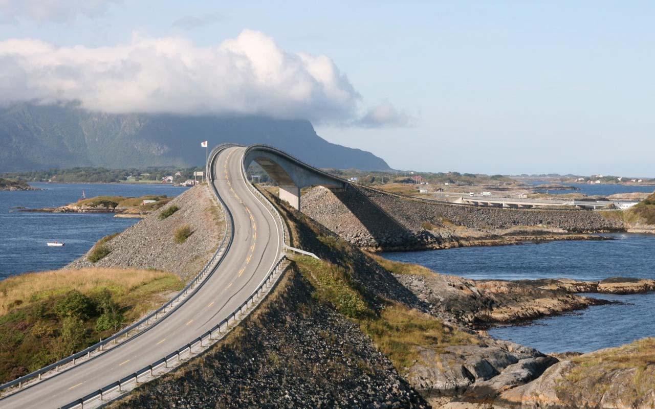 Atlantic road, Norway, travel, wanderlust, facts, people, culture