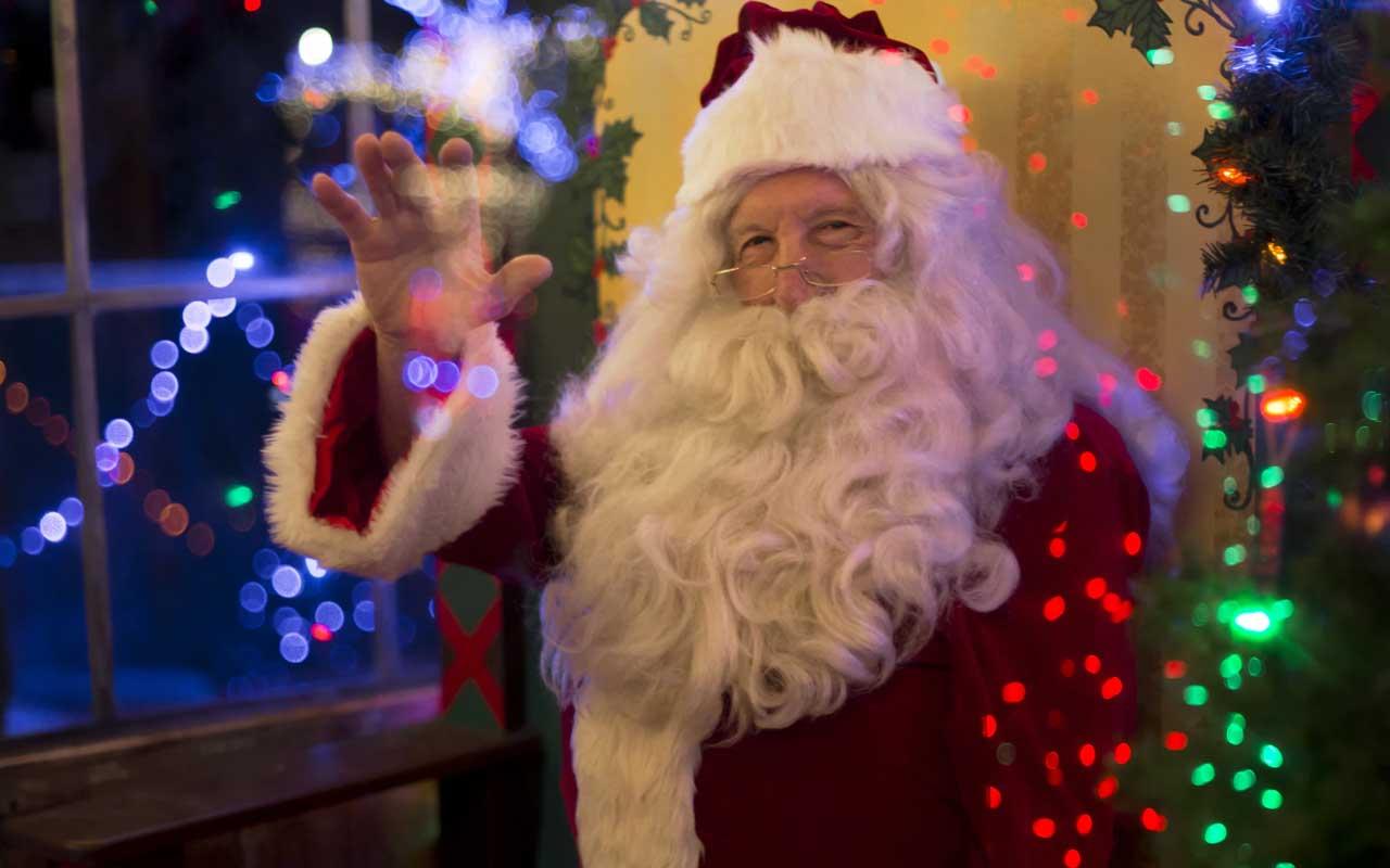 Santa, Christmas, presents, travel, world, Earth