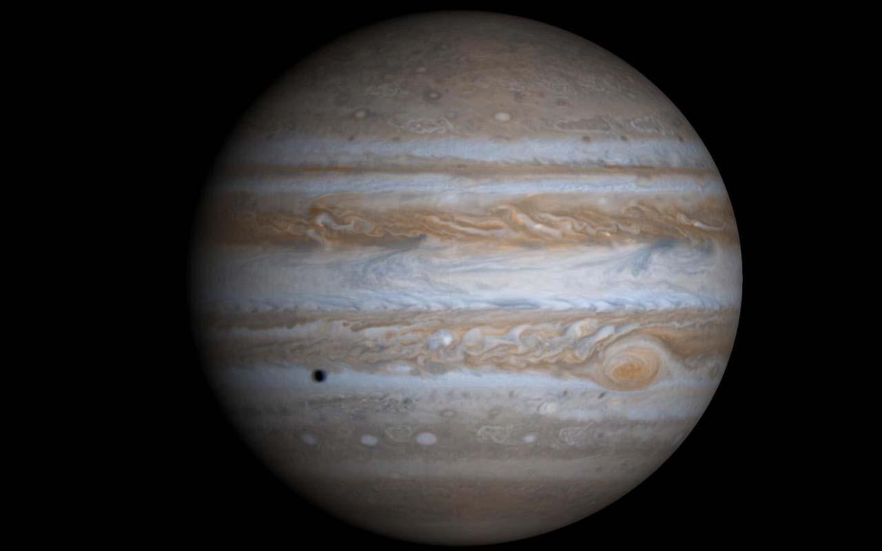 Jupiter, planet, gas giant, life, universe, satellites, light years