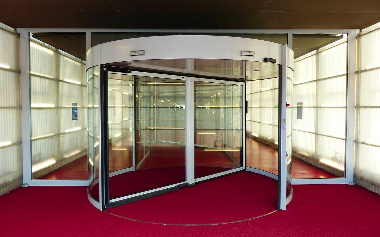 revolving door, history, inventions, creations, travel, facts