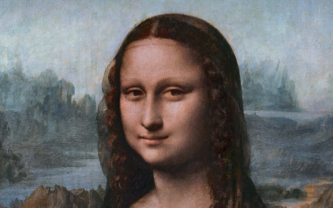 Da Vinci, painting, Mona Lisa, history, history in pictures