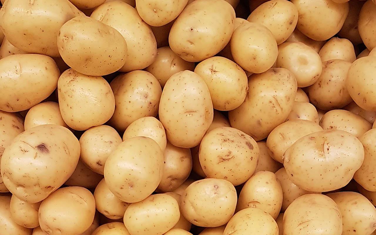 potatoes, WiFi, radio waves, water content