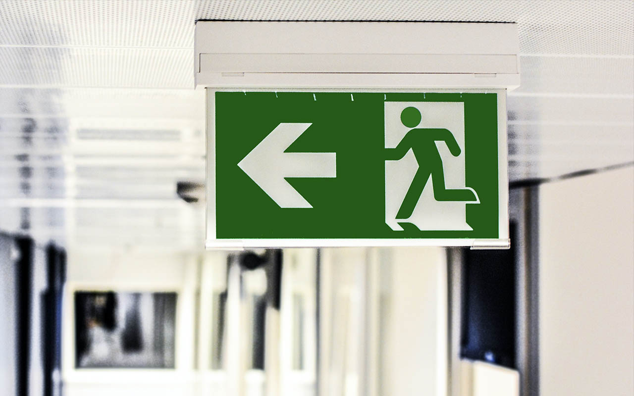 exit, emergency, building, life, survival, facts
