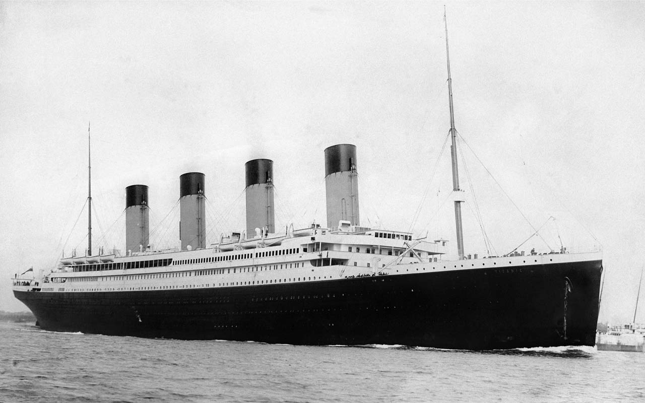 Titanic, facts, history, tickets, price, people