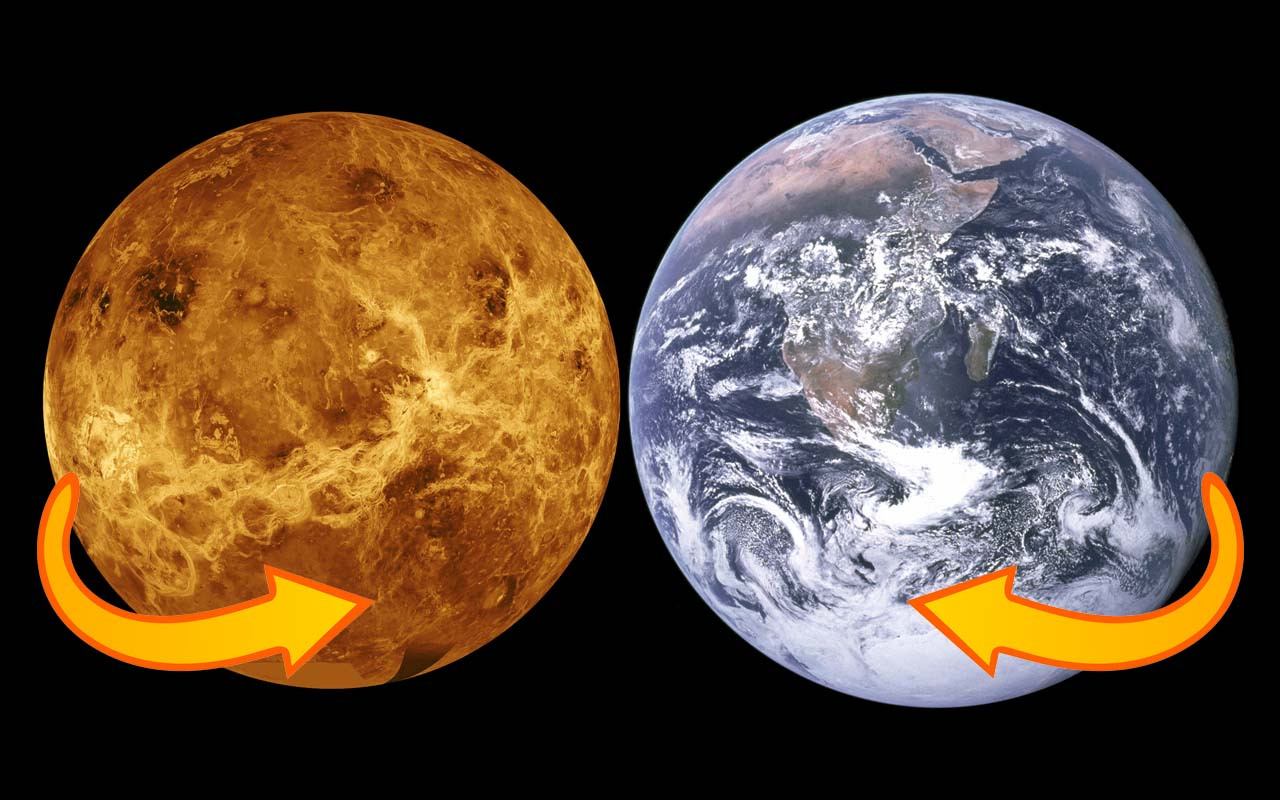 NASA, Venus, Uranus, Earth, clockwise, rotation, facts, science, puzzling
