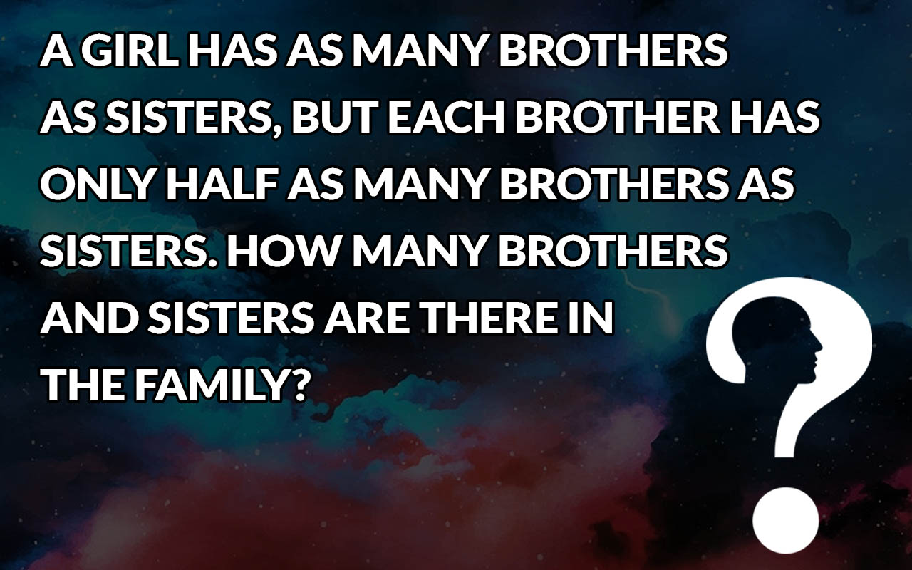 riddle, sisters, brothers, facts, entertainment, life