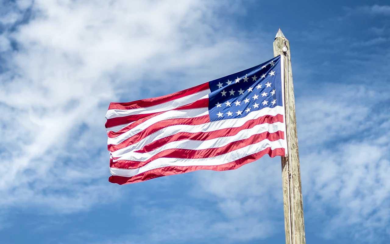United States, Pledge of Allegiance, magazines, PR student, stunt